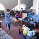 Children enjoying the Japan Club
