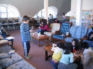 Children enjoying the Japan Club